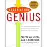 Negotiation Genius: How to Achieve Brilliant Results at the Bargaining Table (Unabridged)